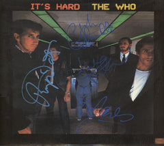 The Who Autographed Lp - Zion Graphic Collectibles
