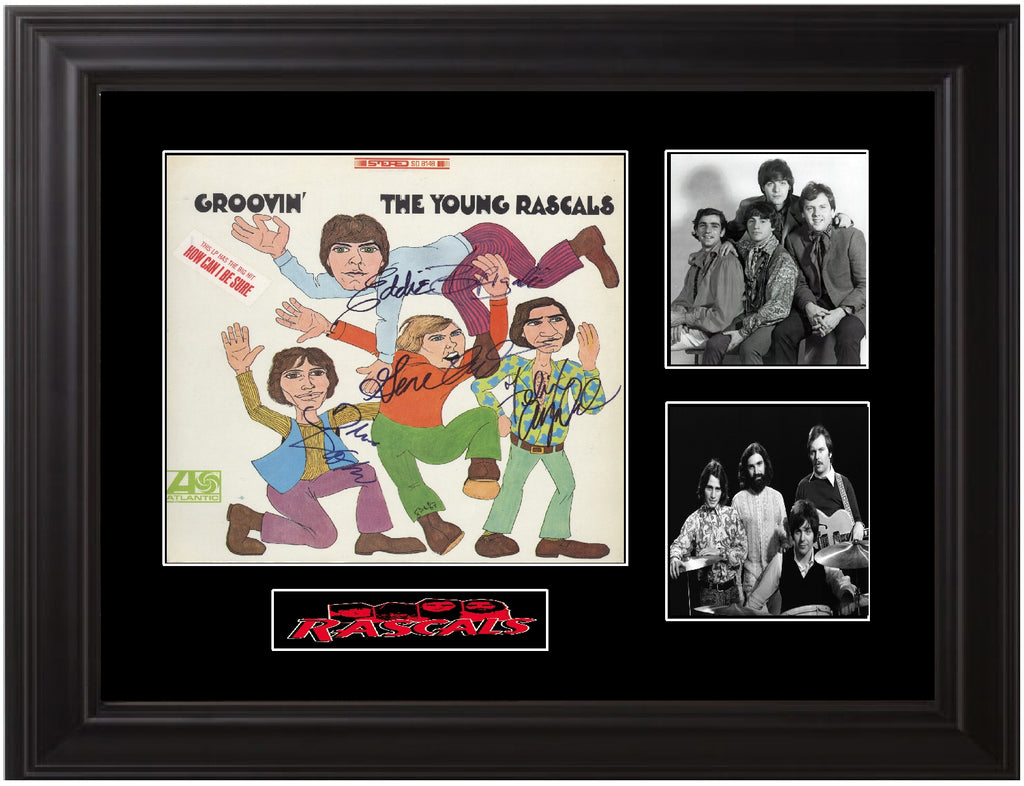 Young Rascals Autographed LP - Zion Graphic Collectibles