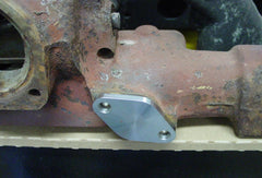 EGR blockoff plate