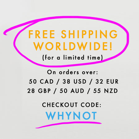 Free Shipping! Everywhere!