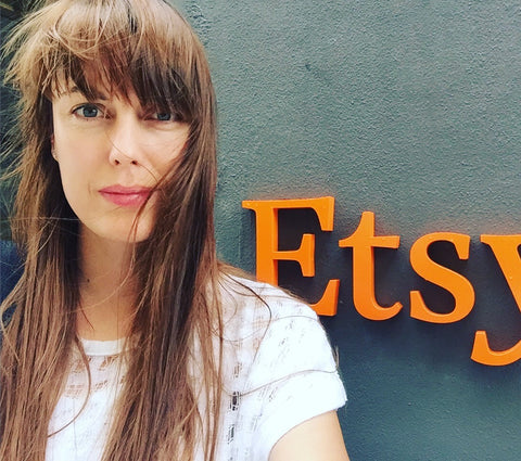 Adrienne at Etsy HQ