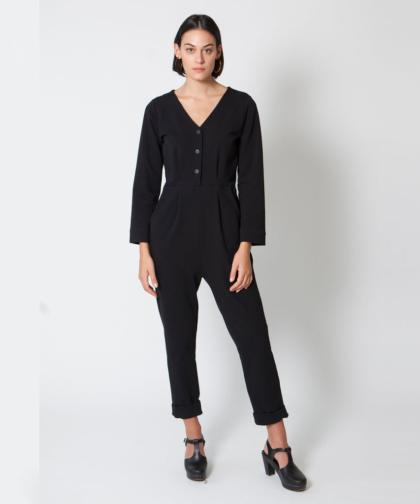 ANDERS Black Jumpsuit