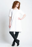 Midi Oversized Tee - Weighty Knit - Skinny Sweats - 2