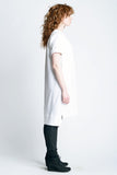Midi Oversized Tee - Weighty Knit - Skinny Sweats - 4