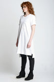 Midi Oversized Tee - Weighty Knit - Skinny Sweats - 3