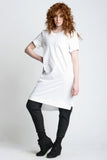 Midi Oversized Tee - Weighty Knit - Skinny Sweats - 5