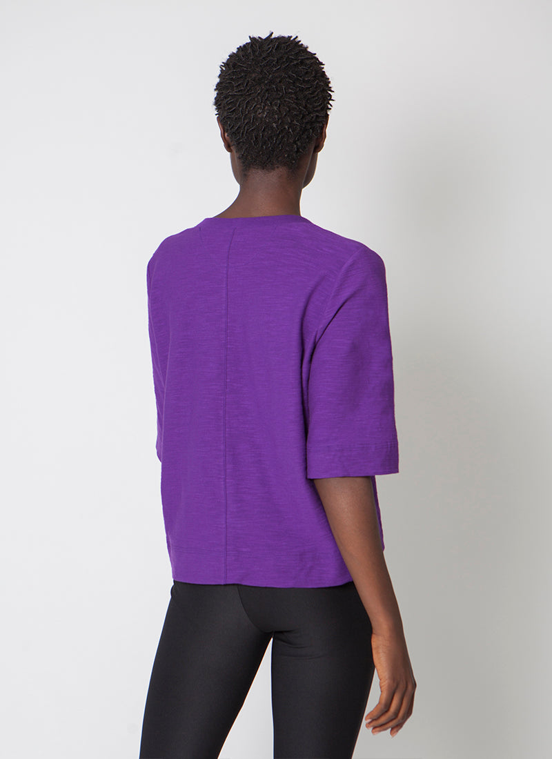 Felix Tailored Tee - Larkspur Blue