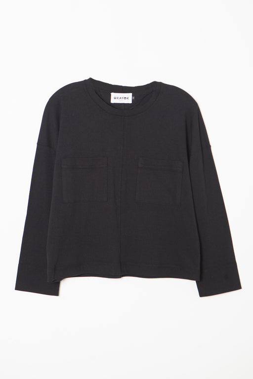 LEIGH Top - Black
