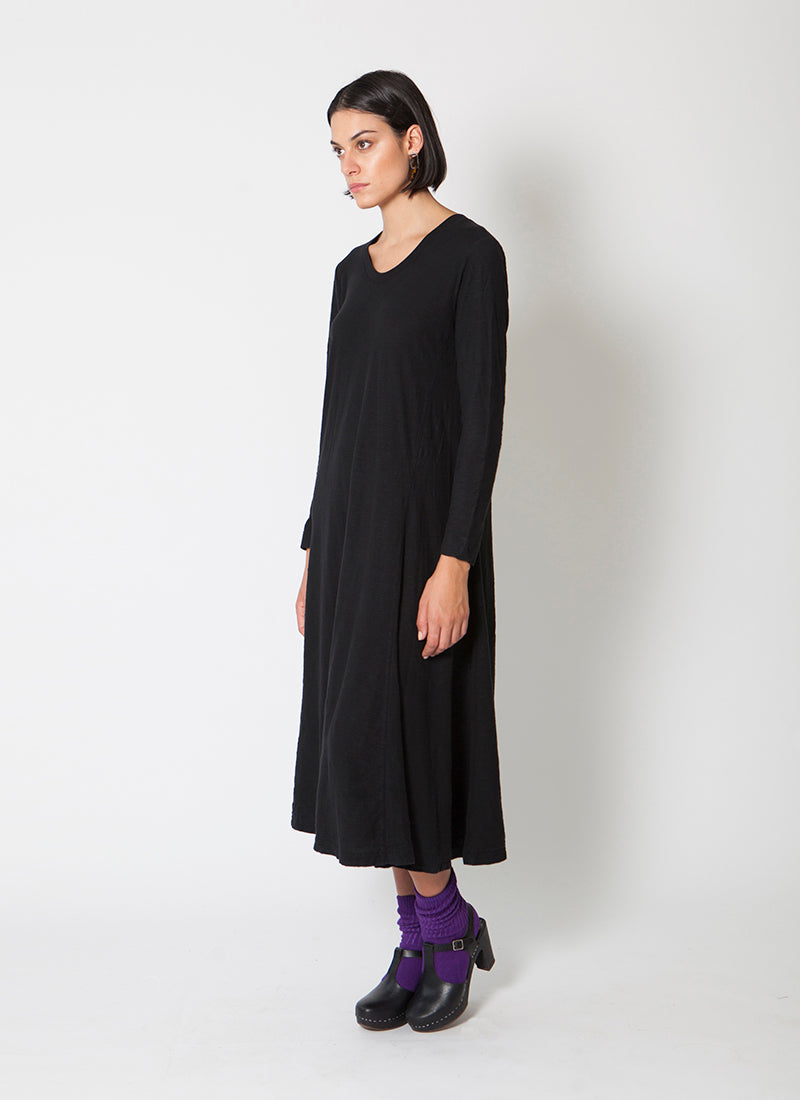 Salem Midi Dress - Black