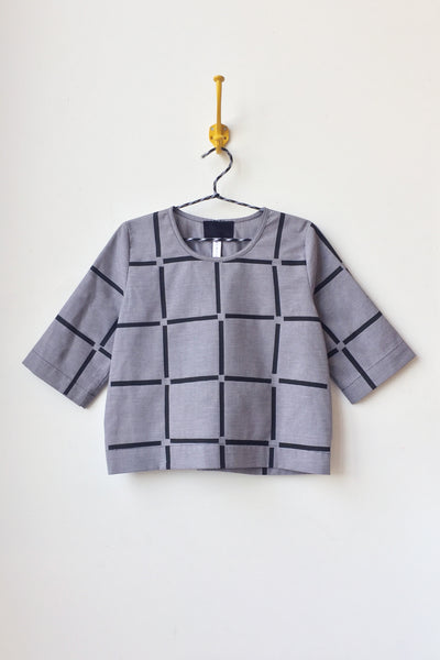 Grid Blouse