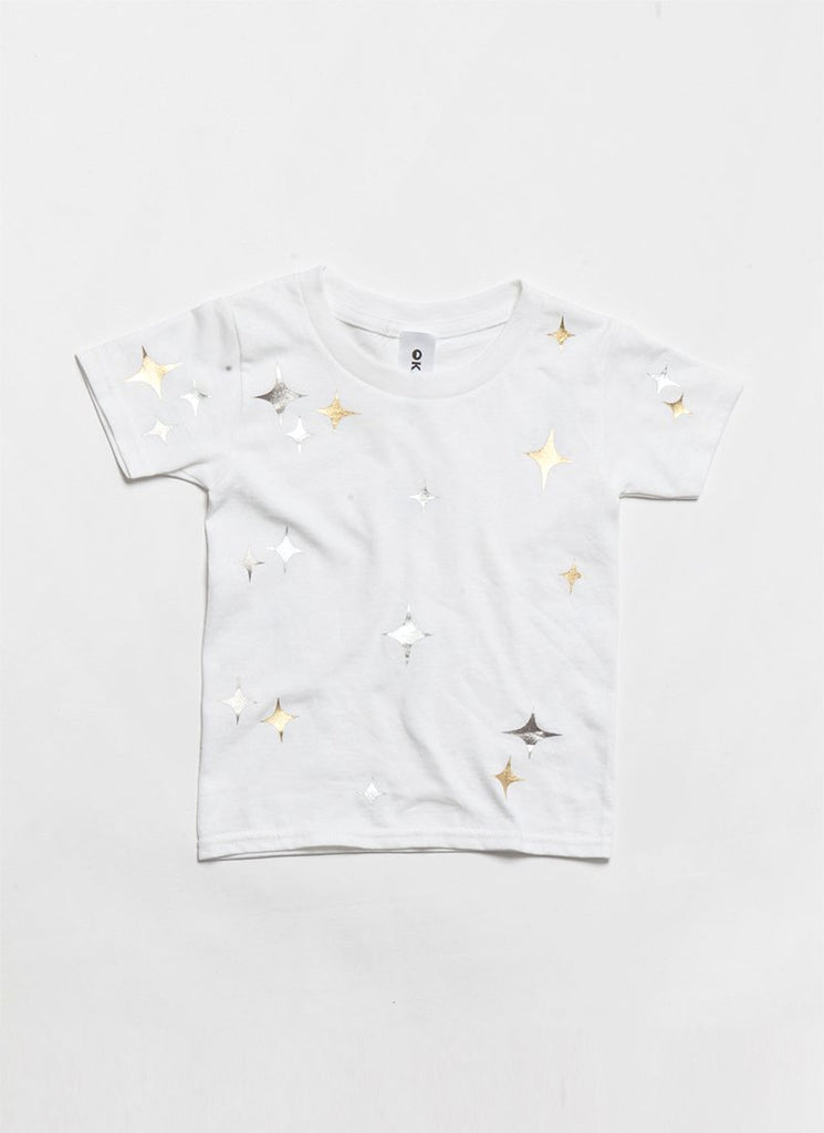 KIDS TWINKLE Tee - Mixed Metals