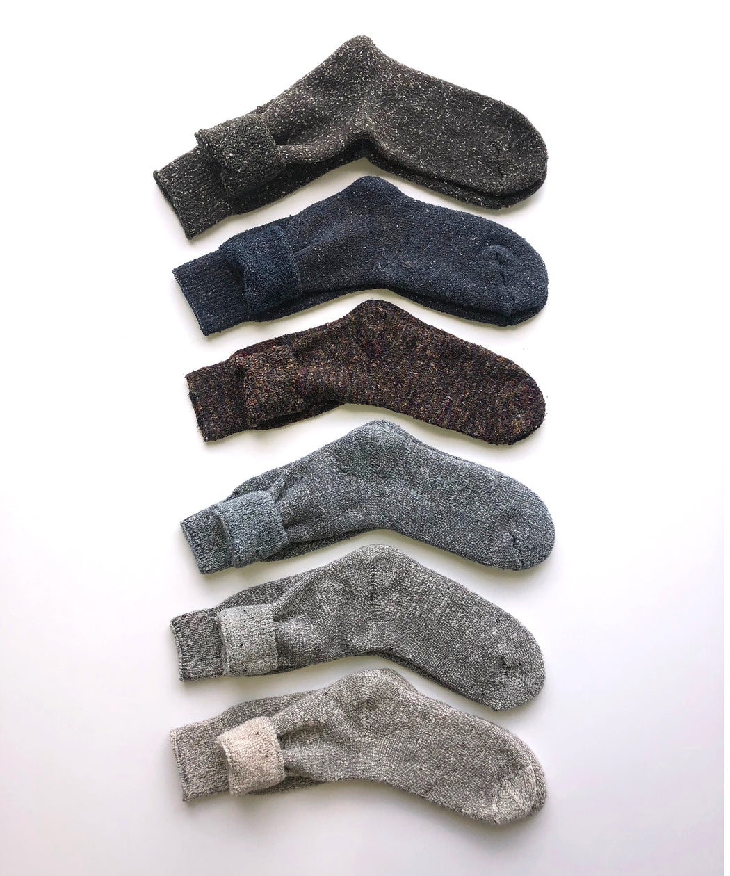Mixed Terry Socks