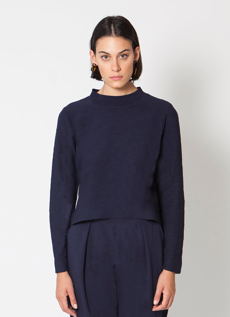 VAL Mock Neck Top