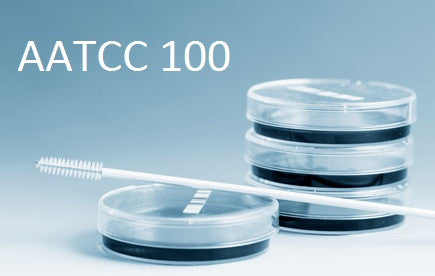 AATCC 100 -  Assessment of Antibacterial Finishes on Textile Materials