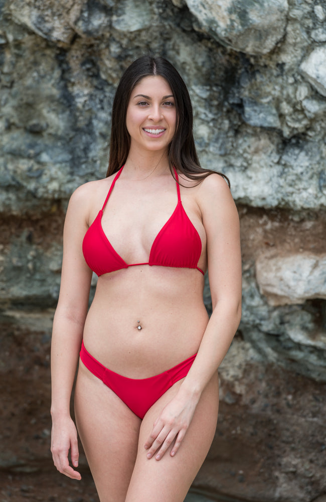 Frankie Bottoms In Red