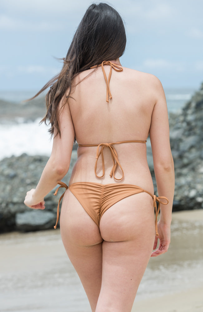 Solei Tie Side Bottoms In Clay