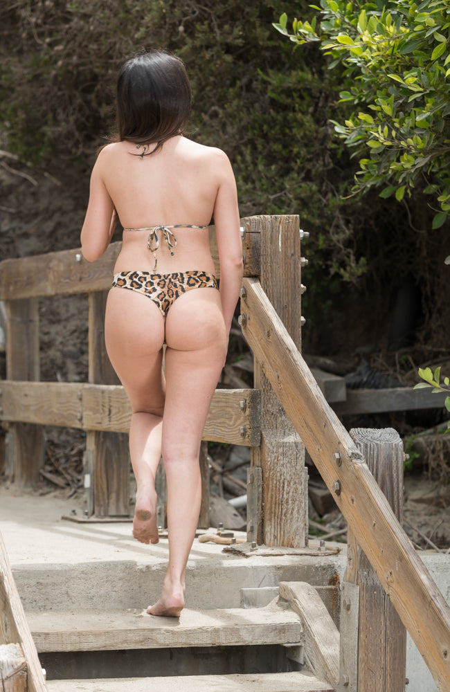 Frankie Bottom In Leopard