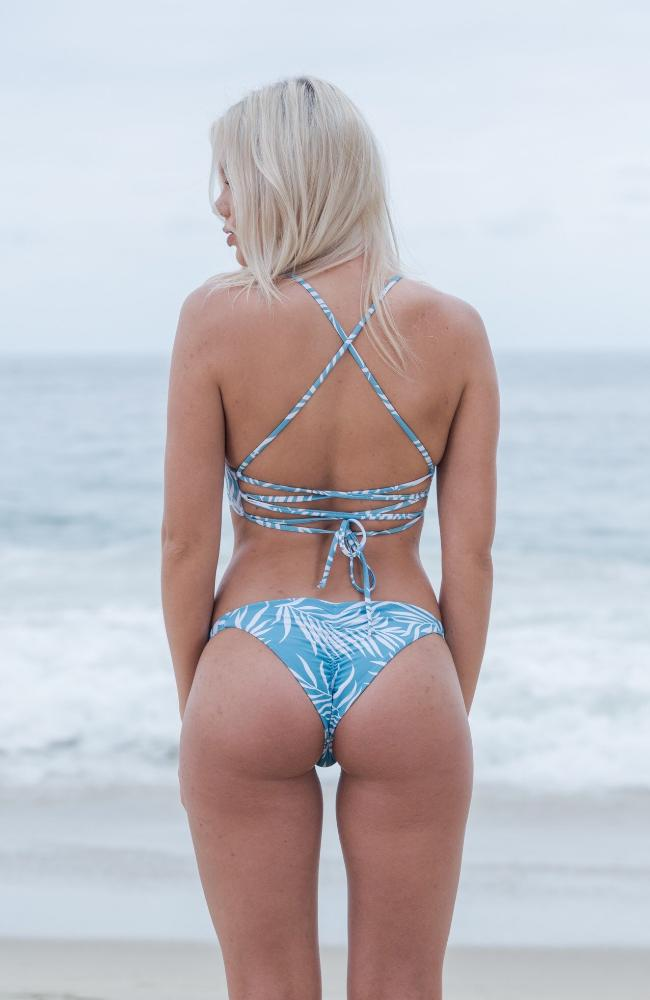 Jayde Bottom In Coastal Blue/White