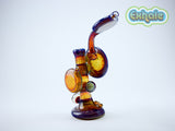 Beak Glass - Honeycomb Push Bowl Bubbler
