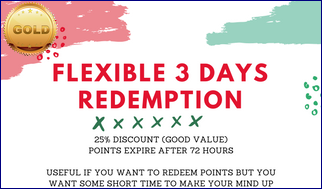 Flexible-3-Days-Redemption