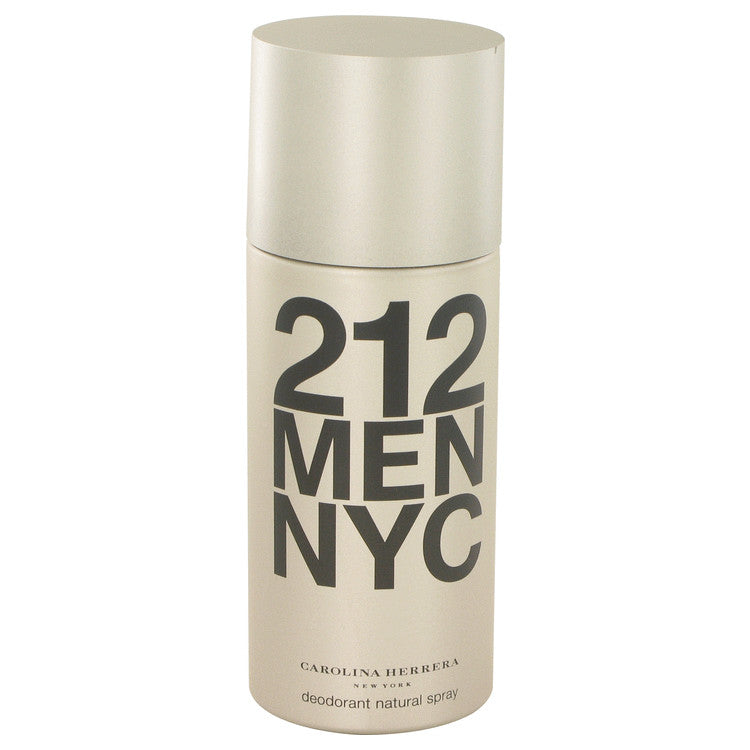 212 by Carolina Herrera 150ml Deodorant Spray 5 oz (Men)