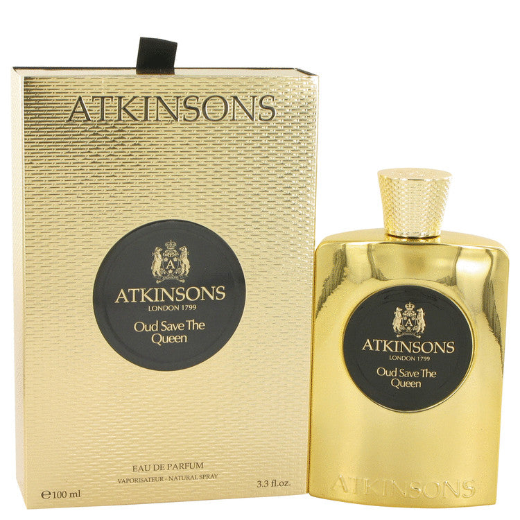 Oud Save The Queen by Atkinsons 100ml Eau De Parfum Spray 3.3 oz (Women)