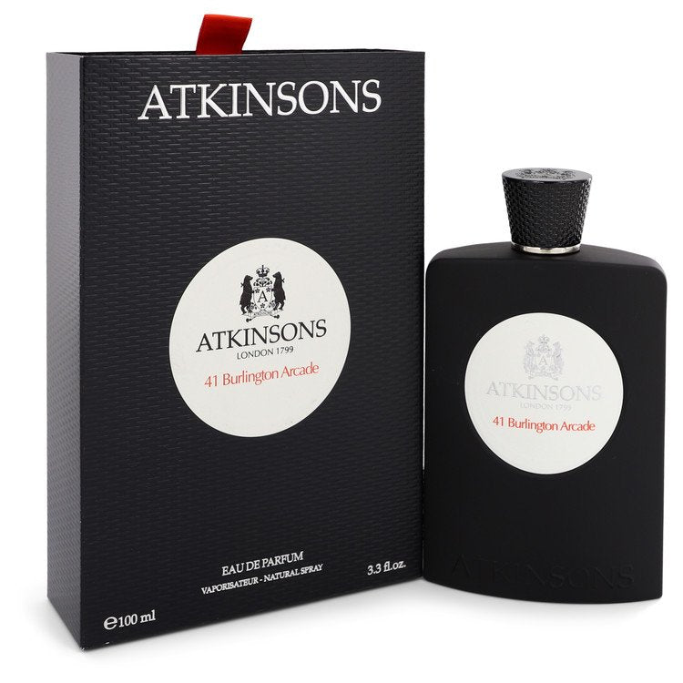 41 Burlington Arcade by Atkinsons 100ml Eau De Parfum Spray (Unisex) 3.3 oz (Women)