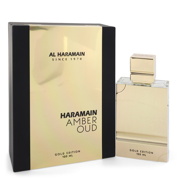 Al Haramain Amber Oud Gold Edition by Al Haramain 60ml Eau De Parfum Spray (Unisex) 2 oz (Women)