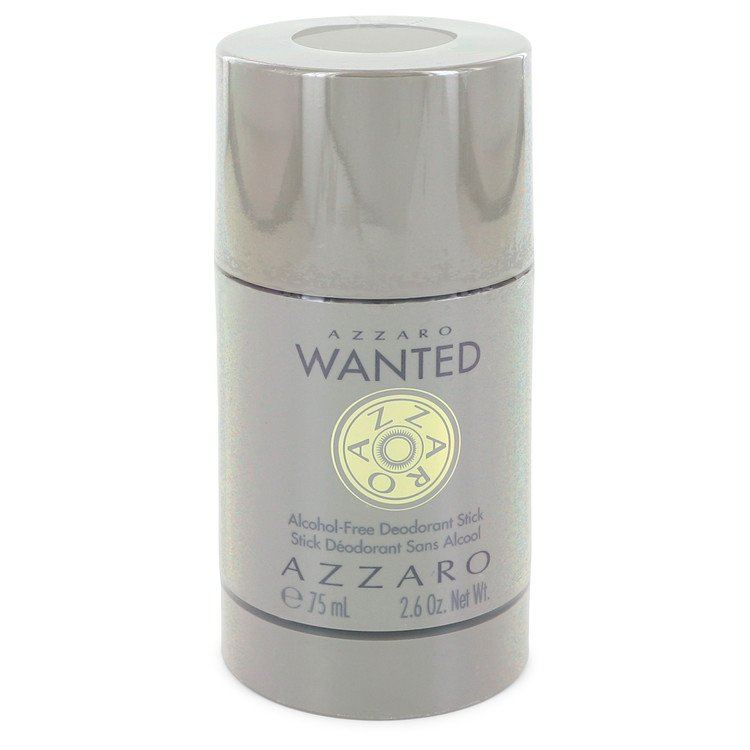 Azzaro Wanted by Azzaro 75ml Deodorant Stick (Alcohol Free) 2.5 oz (Men)