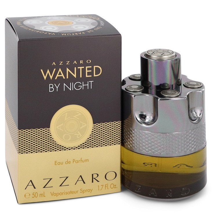 Azzaro Wanted By Night by Azzaro 50ml Eau De Parfum Spray 1.7 oz (Men)