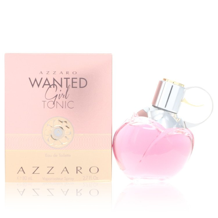 Azzaro Wanted Girl Tonic by Azzaro 80ml Eau De Toilette Spray 2.7 oz (Women)