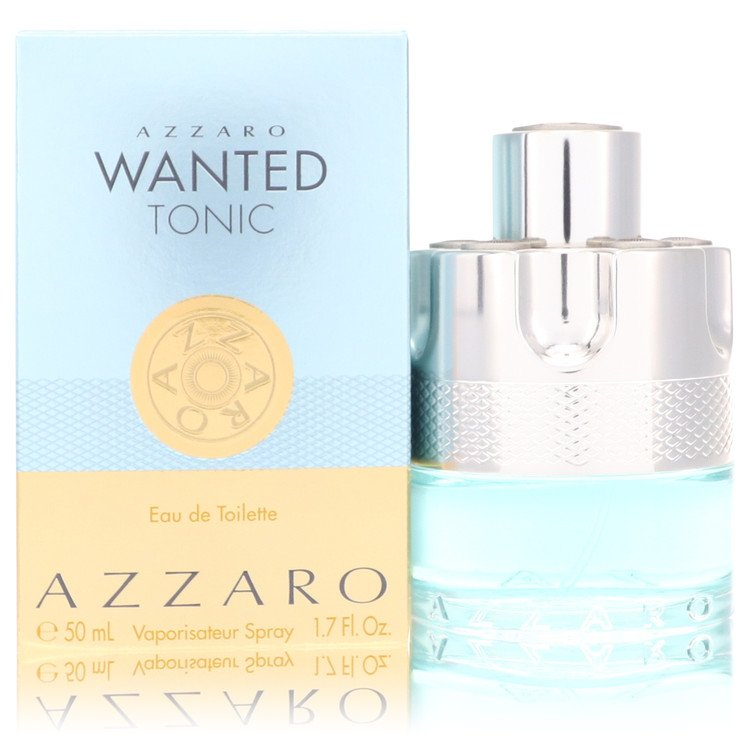 Azzaro Wanted Tonic by Azzaro 50ml Eau De Toilette Spray 1.7 oz (Men)