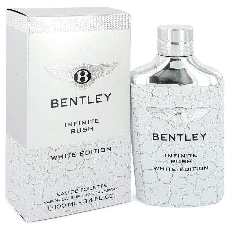 Bentley Infinite Rush by Bentley 100ml Eau De Toilette Spray (White Edition) 3.4 oz (Men)