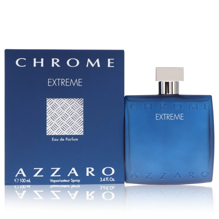 Chrome Extreme by Azzaro 100ml Eau De Parfum Spray 3.4 oz (Men)