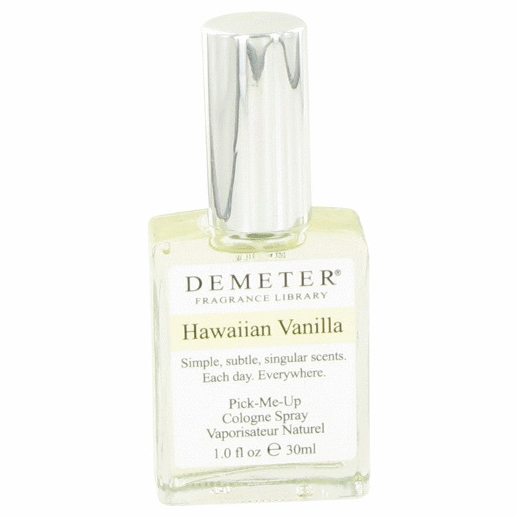 Demeter by Demeter 30ml Hawaiian Vanilla Cologne Spray 1 oz (Women)