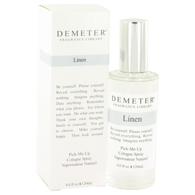 Demeter by Demeter 120ml Linen Cologne Spray 4 oz (Women)
