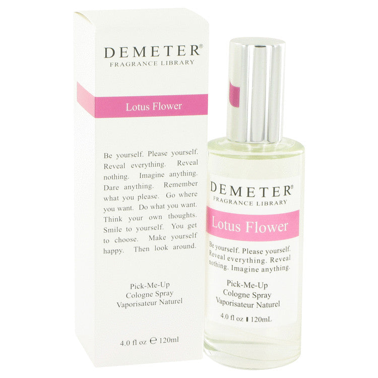 Demeter by Demeter 120ml Lotus Flower Cologne Spray 4 oz (Women)