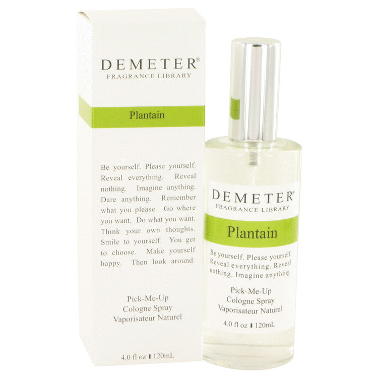 Demeter by Demeter 120ml Plantain Cologne Spray 4 oz (Women)