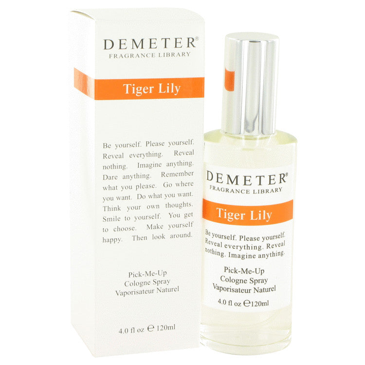 Demeter by Demeter 120ml Tiger Lily Cologne Spray 4 oz (Women)