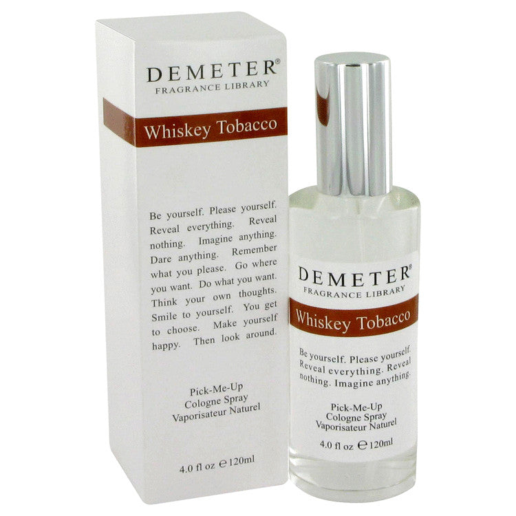 Demeter by Demeter 120ml Whiskey Tobacco Cologne Spray 4 oz (Women)