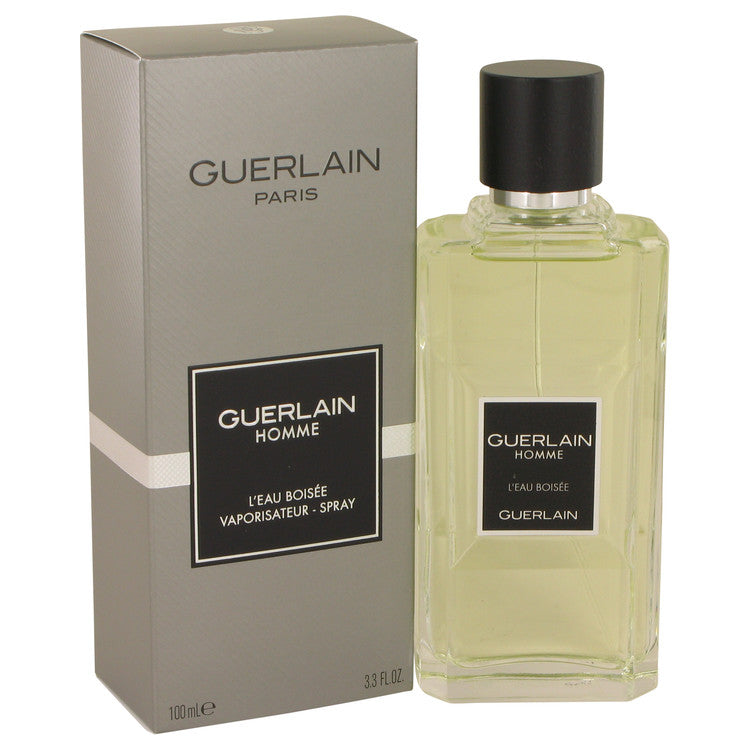 Guerlain Homme L'eau Boisee by Guerlain 100ml Eau De Toilette Spray 3.3 oz (Men)
