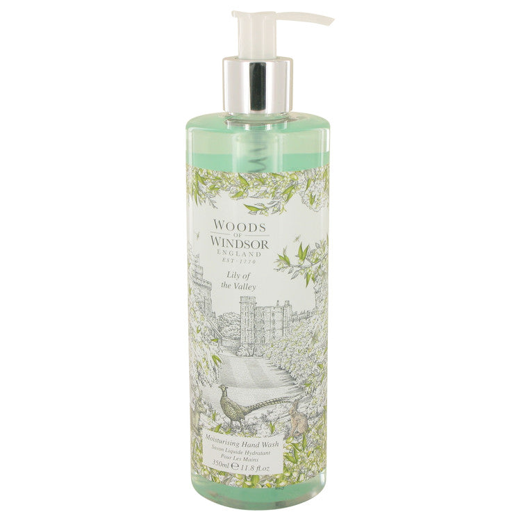 Lily of the Valley (Woods of Windsor) by Woods of Windsor 349ml Hand Wash 11.8 oz (Women)