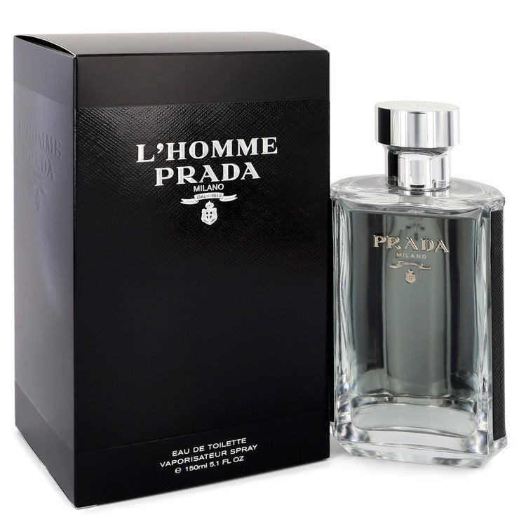 L'homme Prada by Prada 151ml Eau De Toilette Spray 5.1 oz (Men)