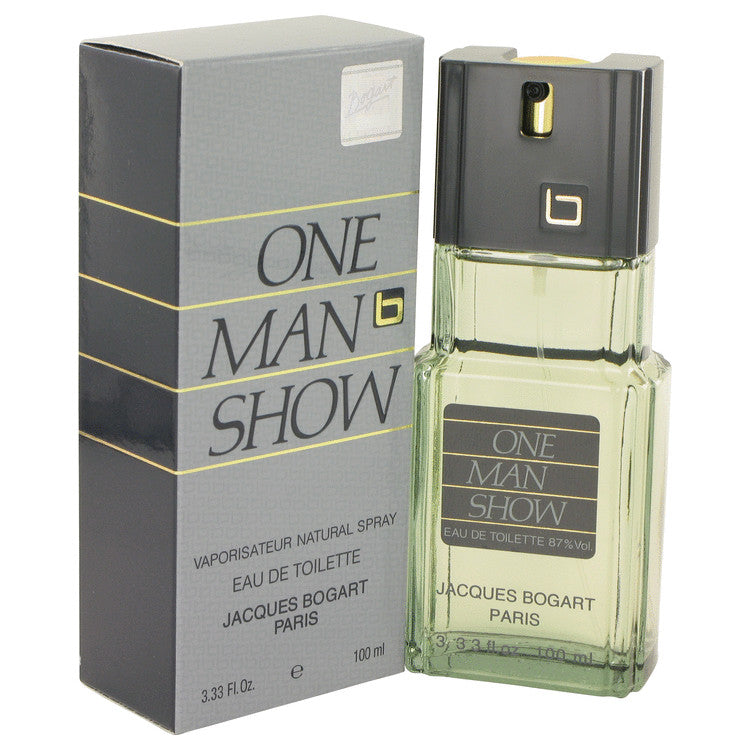 ONE MAN SHOW by Jacques Bogart 100ml Eau De Toilette Spray 3.3 oz (Men)
