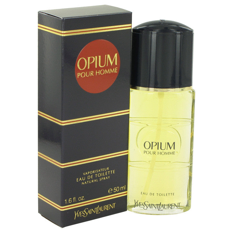 OPIUM by Yves Saint Laurent 50ml Eau De Toilette Spray 1.6 oz (Men)