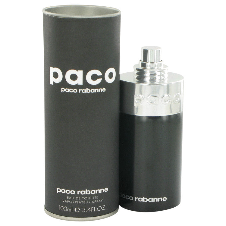 PACO Unisex by Paco Rabanne 100ml Eau De Toilette Spray (Unisex) 3.4 oz (Men)