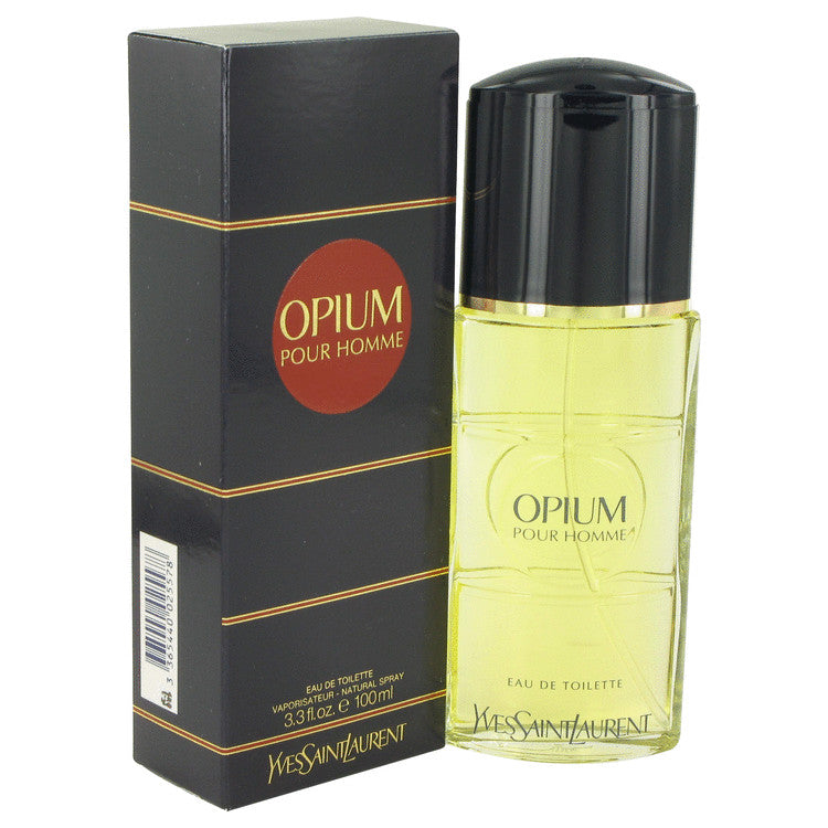 OPIUM by Yves Saint Laurent 100ml Eau De Toilette Spray 3.3 oz (Men)