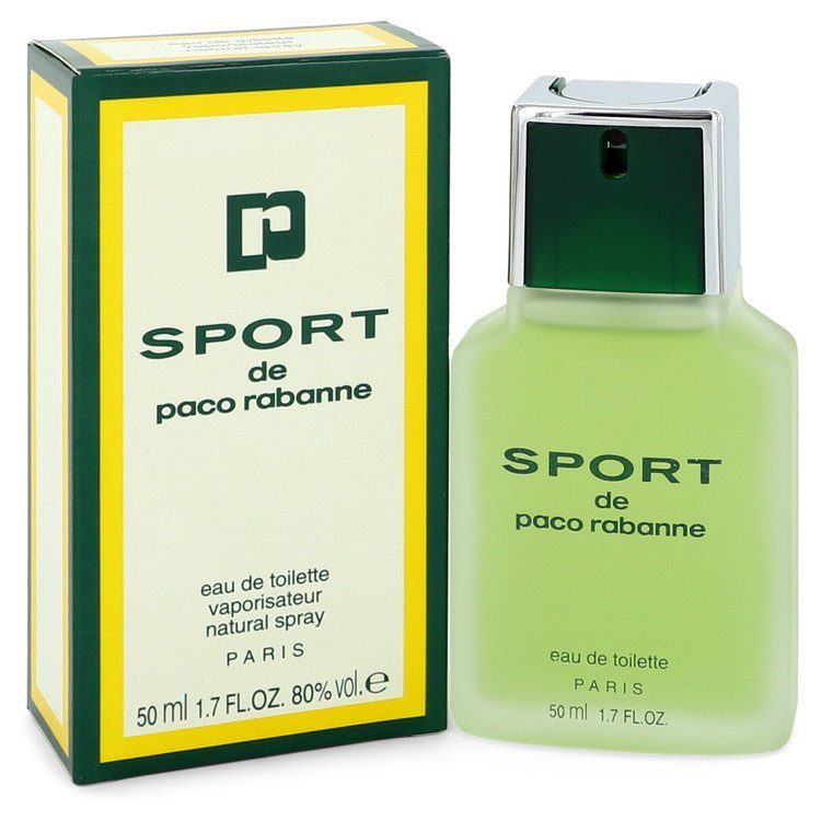 PACO RABANNE SPORT by Paco Rabanne 50ml Eau De Toilette Spray 1.7 oz (Men)
