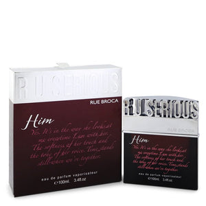 R U Serious Him by Rue Broca 100ml Eau De Parfum Spray 3.4 oz (Men)