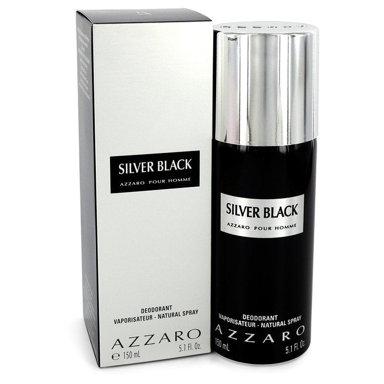 Silver Black by Azzaro 151ml Deodorant Spray 5.1 oz (Men)